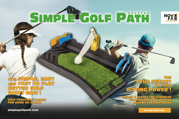 It is simple, easy and fast to play better golf right now !